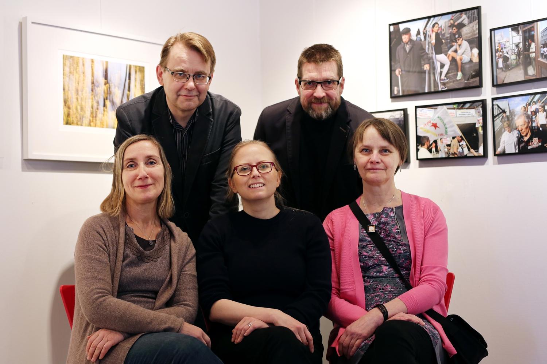 Henna Lundenius, Ari Helander, Anna Kuokkanen, Juha Vakkilainen, Helena Perhonen